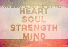 bible verse luke 1027 love lord god heart