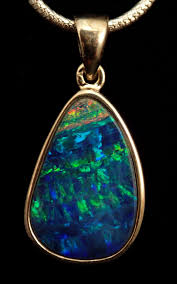 blue green opal what on earth pds 0453 australian blue green opal doublet