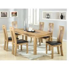 dining table glass top oak dining table hayden designer round