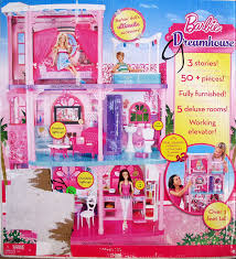 amazon com barbie 3 story dreamhouse furnished dream house over amazon com barbie 3 story dreamhouse furnished dream house over 3 feet tall w 50 pieces lights sounds working elevator more 2011 toys games
