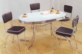 50s Dining Chairs Retro Dining Set In Home U2014 Derektime Design Back To Retro Dining