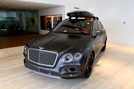 matte bentley 2017 bentley bentayga w12 signature stock 7nc015656 for sale