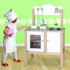 Childrens Toy Wooden Kitchen Childrens Kids Wooden Pretend Play Kitchen Toy Play Set Oven Sink