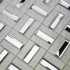 Tile Sheets For Kitchen Backsplash Crystal Glass Mosaic Tile Sheet Wall Kitchen Backsplash Tile Floor
