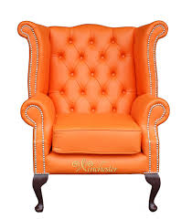 Wingback Armchair Uk Chesterfield Queen Anne High Back Wing Chair Uk Manufactured