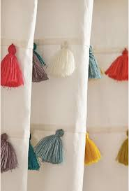 Tassel Curtain Forbidden Shower Curtain Love Or Why I Tied 100 Tassels And
