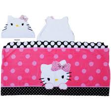 kitty dots u0027adore bath towel collection walmart