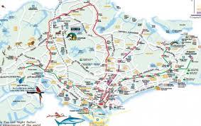 Singapore Map World by Singapore Roads Map Road Map Of Singapore Republic Of Singapore