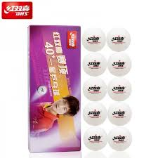 Dhs Table Tennis by Dhs Double Happiness 1 Star 40 U0027cell Free Dual U0027 Table Tennis Ball