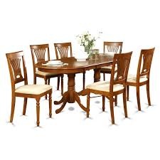 rustic furniture solid wood large dining table 8 chair set in