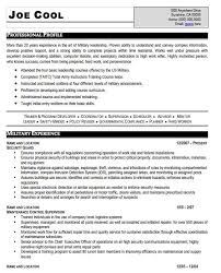 Army Infantry Resume Examples by Home Design Ideas Military Resume Moa Format Cover Letter Sample
