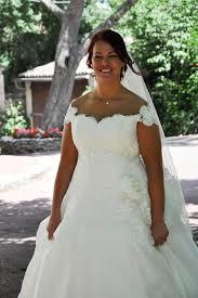 robe de mari e femme ronde robe de mariée pour mariée ronde mots doux un jour une mariée