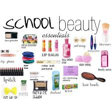 beauty essentials by haley516f on polyvore