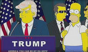 homer simpson who said it donald trump or homer simpson the haven medium