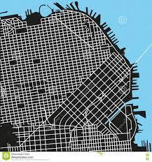 San Francisco Street Map by San Francisco Vector Map Michigan Map