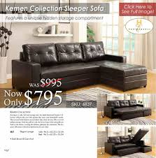 Klaussner Vaughn Sofa Sleeper Sofas U2013 All American Mattress U0026 Furniture