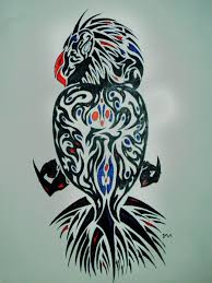 tribal owl tattoo print photo 3 photo pictures and sketches