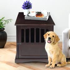 Diy End Table Dog Crate by End Table Dog Crate Canada Wooden Dog Crate End Table End Table