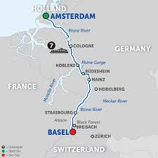 Rivers In Europe Map by 2018 Europe River Cruise Deals