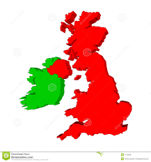 Blank Map Of Counties Of Ireland by Green Outline Map Of Ireland Stock Photos Image 8410843