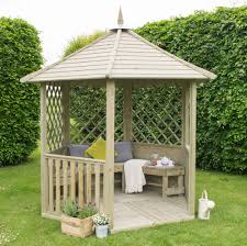 patio furniture gazebo forest burford gazebo gardensite co uk