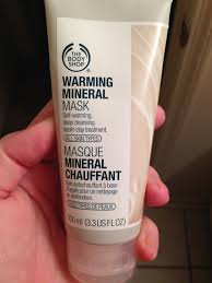 the body shop black friday face mask friday warming mineral mask from the body shop review