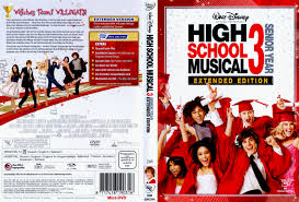 high school high dvd high school musical 3 senior year dvd cover 2008 r2 german
