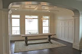 turquoise rug decor ideas interior home design creative rugs amy s casablanca dining room transformation we got the trim work all done in the dining room the stencil on the top portion looks a lot better now that