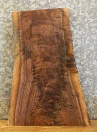 Wood Slab End Table by Very Rustic Live Edge Black Walnut Side Entry End Table Top Slab