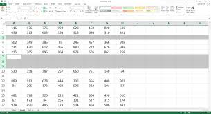 Blank Spreadsheets How To Delete All Blank Rows In Excel In 3 Seconds Youtube