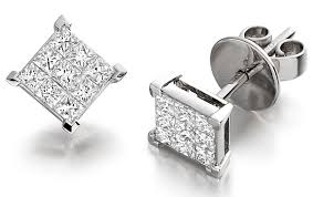 invisible earrings black diamonds rings invisible diamond earrings