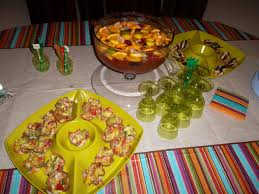 fall mexican themed cocktail party