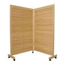 Shutter Room Divider Shop Furniture Room Dividers 2 Panel Folding