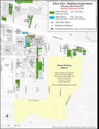 Map Of Eugene Oregon by Concert And Event Parking And Transportation Matthew Knight