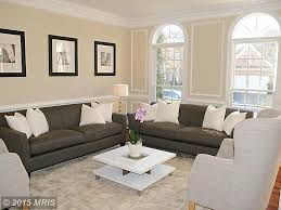 Chair Rail Ideas For Living Room Contemporary Living Room With Wainscoting U0026 Crown Molding In