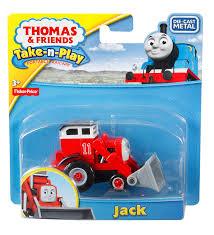 amazon com fisher price thomas u0026 friends take n play jack train