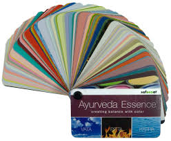 afm safecoat ayurveda color swatch book paint fan deck color