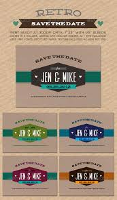 retro save the date wedding for sale and the o u0027jays