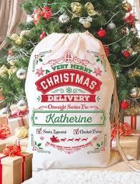 santa sack personalized santa bag