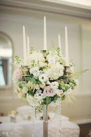 wedding candelabra classic garden wedding candelabra and flowers