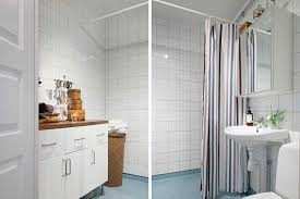 Bathroom Ideas For Apartments Light Interior Design And White Decorating In Scandinavian Style