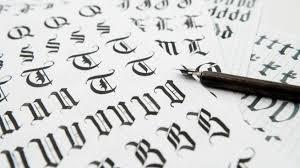 imagenes goticas letras cómo hacer letras góticas de diferentes formas y fácilmente