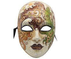 venetian mask green and gold detailing authentic venetian mask