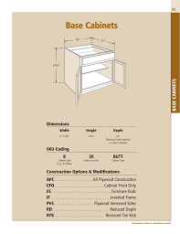 what is the depth of a base cabinet base cabinets shenandoah cabinetry
