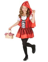 little red riding hood halloween costume toddler little red riding hood for girls vegaoo