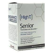 high t senior high t senior testosterone booster supplement 90 count ebay