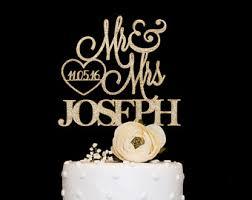 cake toppers for weddings wedding cake topper etsy