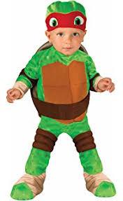 Turtle Halloween Costume Amazon Teenage Mutant Ninja Turtles Deluxe Leonardo Costume