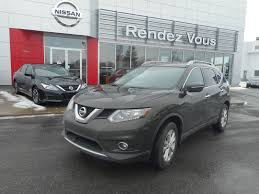 nissan rogue family package used 2014 nissan rogue sv family tech package at rendez vous