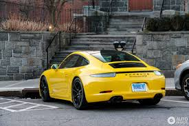 porsche yellow porsche 991 carrera gts 21 february 2017 autogespot